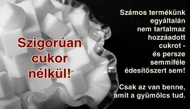 cukormentes termékek